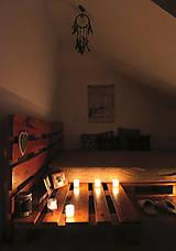 Nábytok - Paletová manželská posteľ - 8622345_