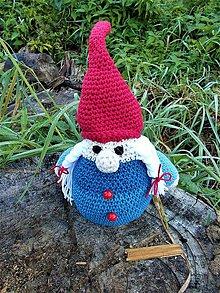 Hračky - Napapaný škriatok Gnome - 8619471_