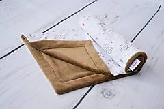 - Sloníková deka béžová + wellsoft 65*75cm - 8619421_