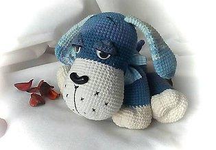 Hračky - Modrý psík - 8622217_