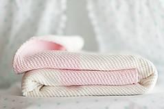 """Textil - Zimná Deka do Kočíka a Postieľky, ,,PinkEye"""", OEKO-TEX® - BledoRužová - 8621633_"""