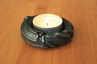 Svietidlá a sviečky - Svietnik na čajovú sviečku - 8619320_