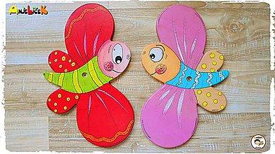 Detské doplnky - Dekorácia na zavesenie - motýľ - 8623806_