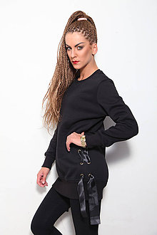 Mikiny - BLACK&BLACK - 8623936_