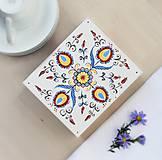 Krabičky - Ručne maľovaná šperkovnica Martinka - 8619038_