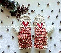 Rukavice - red heart - 8620087_