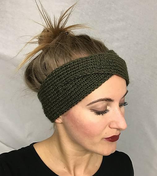 Čelenka khaki - turban