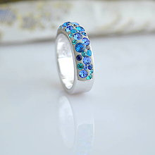 Prstene - Simply Blue Mix (skladom,veľ.: 54) - 8620639_