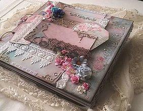 Papiernictvo - Svadobný album na želanie pre Lucku - 8622056_