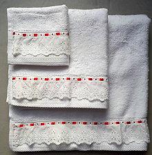 Úžitkový textil - Set bambusových uterákov - 8620854_