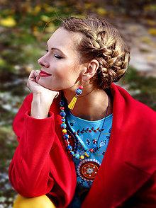 Sady šperkov - Sada šperkov Tyrkys Shine - 8620608_