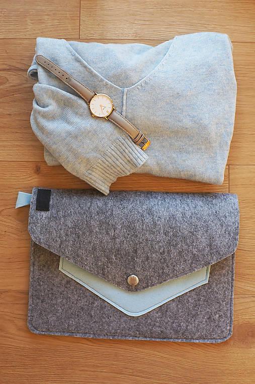 Listová kabelka - modrá