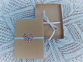 Papiernictvo - krabička na foto - srdiečko - 8620669_