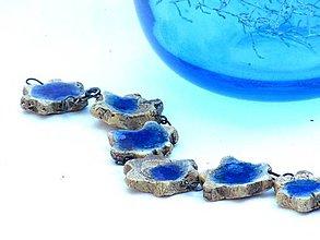 Náramky - náramok modrý - 8620914_