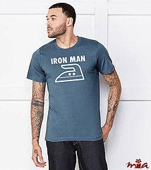 Oblečenie - Iron man - 8620618_