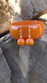 Sady šperkov - Pomarančová sada 2v1 - 8620109_