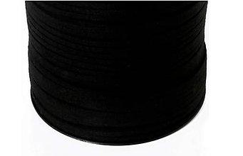 Galantéria - Koženka 3mm čierna - 8622520_