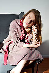 Iné oblečenie - Kostýmček ozdobený perlami - 8619238_