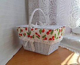 Košíky - Čerešne pre Ivonku - 8621242_