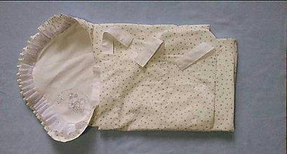 """Textil - Obliečka na perinku """" Strieborný medvedík """" - na objednávku - 8628824_"""