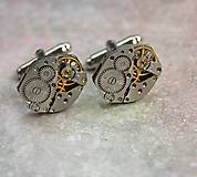 Šperky - Steampunkové gombíky - 8627763_