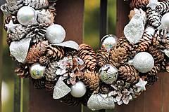 Dekorácie - Vianočný venček - 8626733_