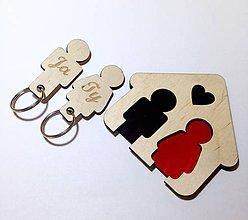 Dekorácie - Vešiak na kľúče - 8625794_