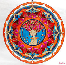 Dekorácie - Mandala STRELEC-SIGITTARIUS ( Z kolekcie