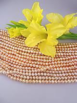 - perla marhuľová pravá 5-6mm - 8628821_