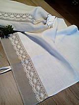Úžitkový textil - Ľanová kuchynská utierka - 8627124_