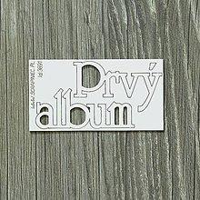 Papier - Lepenkový výrez - Prvý album - 8628710_