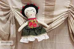 - Frida / autorská bábika - 8628434_