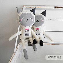 Hračky - Mačička / bábika - 8627509_