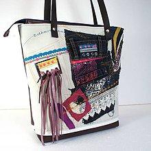 """Veľké tašky - Veľká taška """"Odkazy"""" - 8627339_"""