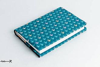 Papiernictvo - Obal na knihu otvárací - lastovičky - 8628600_