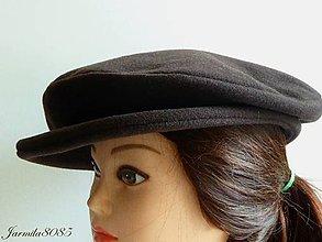 Čiapky - Dámska baretka so šiltom - 8625474_