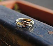 Prstene - Snubný prsteň - 8630732_