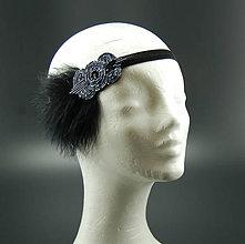 Ozdoby do vlasov - Great Gatsby Ornament ... čelenka - 8631596_