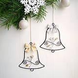 Dekorácie - vianočné zvončeky - 8629237_
