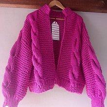 Svetre/Pulóvre - Romantic pink oversized - 8631089_
