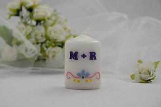 Svietidlá a sviečky - darček pre svadobných hostí - 8630318_