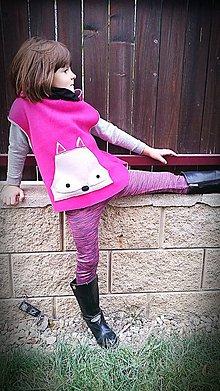 Detské oblečenie - Vesta - zvieratko ;) - 8631696_