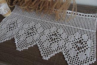 Úžitkový textil - záclonka vitrážka - 8631396_