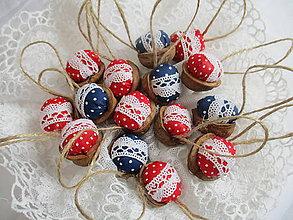 Dekorácie - Vianočné oriešky - 8632583_