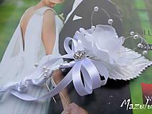 Pierka - svadobné pierko pre ženícha - 8632190_