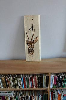 Hodiny - drevené hodiny - 8629759_
