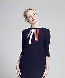 Šaty - FNDLK úpletové šaty bez kapes - 8629398  df82e0070fc
