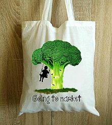Nákupné tašky - Nákupná taška na trh - 8628946_