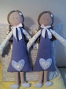 Hračky - anjeličky dvojičky - 8629219_