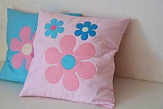 Úžitkový textil - Obliečka kvetiny - 8630966_